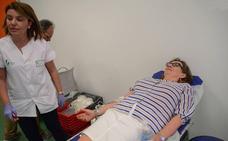 Colecta de Sangre en el centro de salud Urbano I