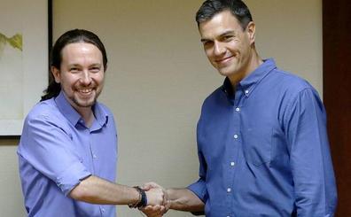 El PSOE hace ahora un guiño a Podemos: Iglesias será el primero en reunirse el martes con Sánchez