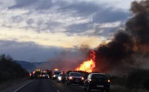 Fallece un motorista en una colisión con un coche cerca de Moraleja
