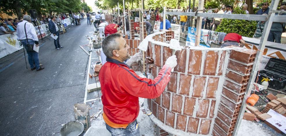 El primer premio del Concurso de Albañilería de Cáceres se va a Riolobos