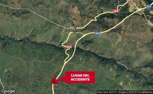 Una salida de vía de un vehículo en la A-5 en Jaraicejo deja un herido politraumatizado