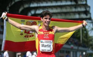 Mala suerte para Álvaro Martín en el GP Cantones