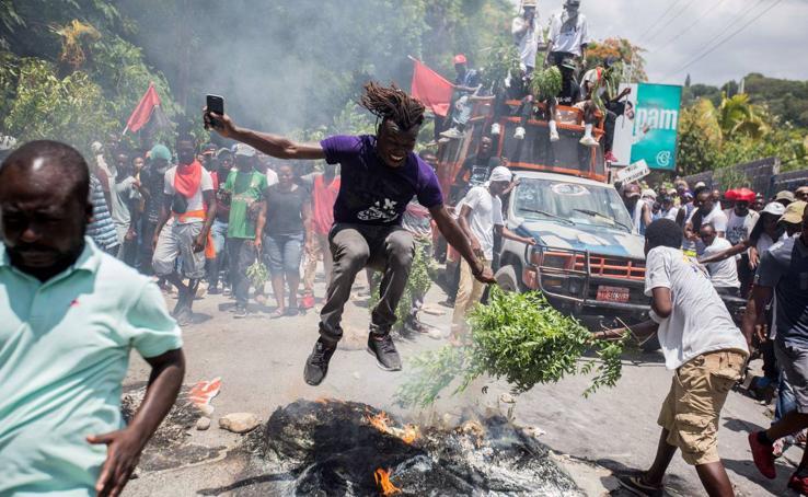 Varios muertos en nueva manifestación en Haití para exigir dimisión de Moise