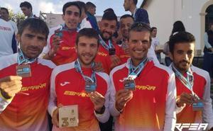 Villalobos, bronce con España en el Mundial