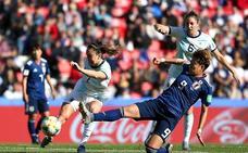 Argentina mantiene a raya a Japón y logra su primer punto en un Mundial