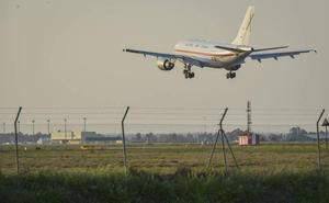 La Base Aérea de Talavera la Real realizará este miércoles un simulacro de accidente aéreo