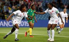 Canadá cumple con lo mínimo ante Camerún
