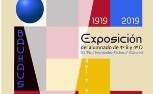 Exposición 'Bauhaus: 1919/2019' en la biblioteca pública de Cáceres