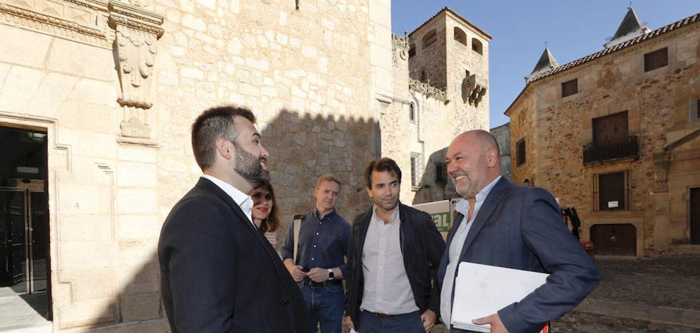Cs quiere tres concejales liberados en Cáceres en las áreas de Economía, Deportes y Patrimonio