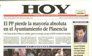 Descargamaría, Robledollano, Casas de Don Pedro y Plasencia volvieron a votar