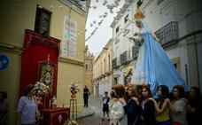 El rosario de la aurora se celebra el domingo en Villanueva