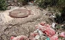 Investigan la aparición de restos hospitalarios en el río Júcar a su paso por Cuenca