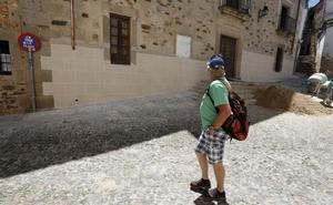 Polémica en el Museo Municipal de Cáceres por el contraste en su nueva fachada