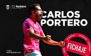 El extremo 'Carlitos', primer fichaje del CD Badajoz