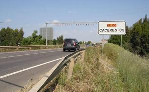 La carretera Ex-100 ya es de Fomento