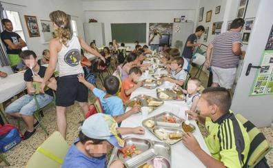 Los 34 comedores de verano cuentan con 980 plazas en 31 municipios
