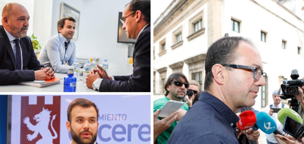 Salaya será alcalde de Cáceres con la abstención de Ciudadanos