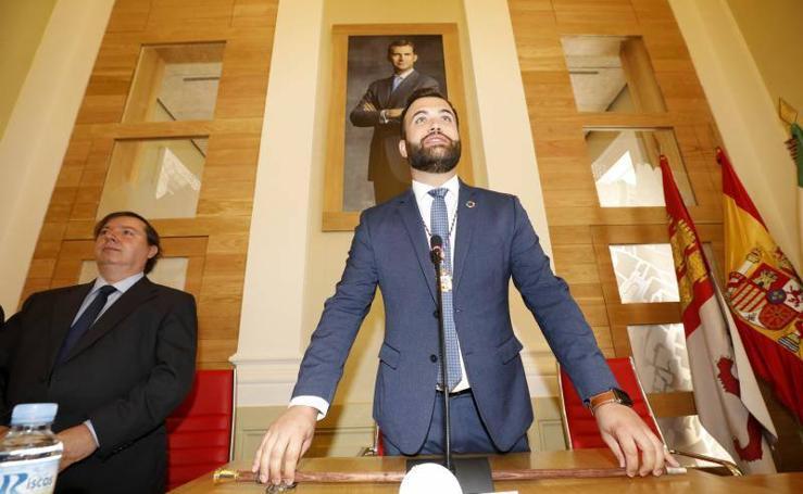 El socialista Luis Salaya, nuevo alcalde de Cáceres