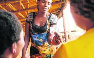 Maestras contra el sida