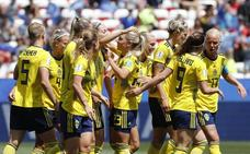 Suecia golea pero no abusa de Tailandia