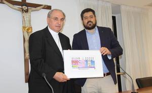 El reloj de la Catedral de Badajoz ilustrará el próximo 25 de junio los cupones de la ONCE