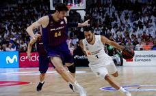 El Madrid busca el 'match ball'; el Barça, avivar la final