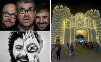 San Juan ilumina el solsticio con trío de cómicos, Corpus y tortilla