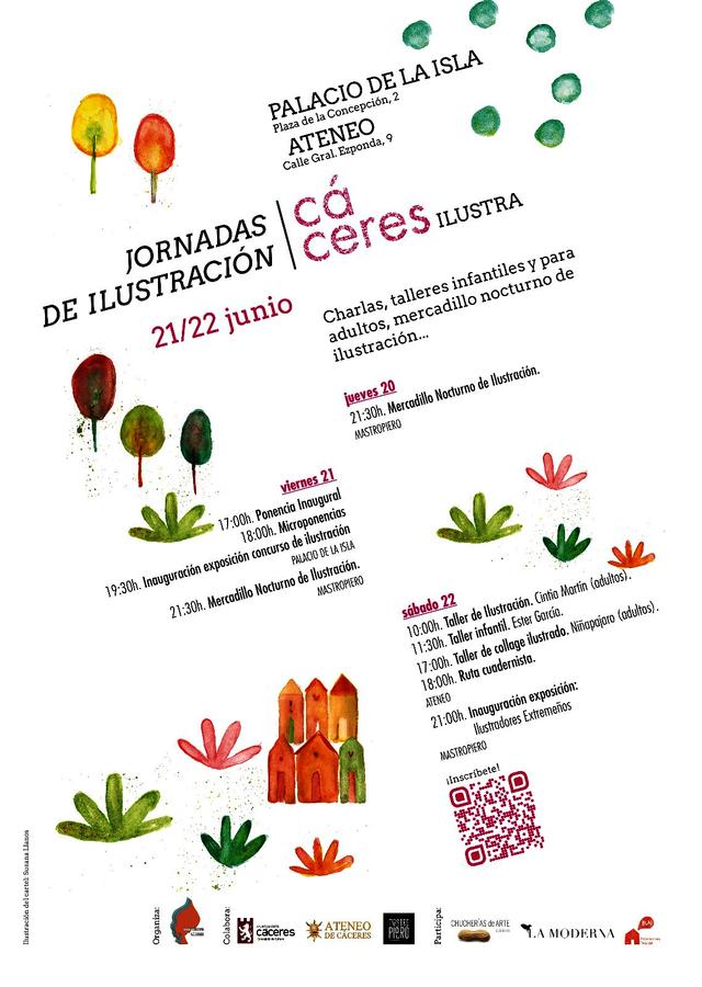 Un mercadillo, ponencias, exposiciones, talleres y una ruta, en las I Jornadas de Ilustración en Cáceres