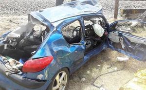 Fallece una joven de 26 años arrollada por un tren en un paso a nivel en Toril