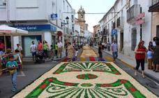 El Corpus Christi volverá a engalanar San Vicente de Alcántara este fin de semana