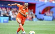 Shanice van de Sanden, de fulminar al Barça a liderar a Holanda