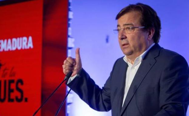 Vara afirma que no es serio el reparto de la Alcaldía de Badajoz