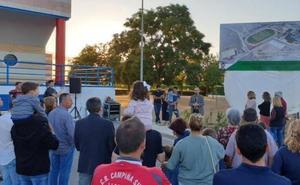 El complejo deportivo homenajea a Antonio de la Rosa, 'Toy'