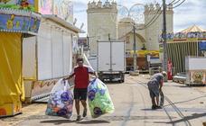 Todo listo para el comienzo de la Feria de San Juan