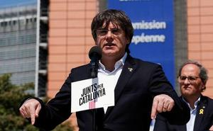 La Junta Electoral deja vacantes los escaños de Puigdemont, Comín y Junqueras en Bruselas
