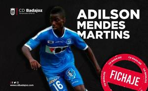 El Badajoz incorpora al sub 23 Adilson Mendes