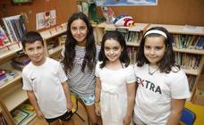 Cácerescaparate | Niños lectores y frenesí de arte en el fin de curso