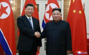 Corea del Norte y China escenifican su buena sintonía en plena tensión con EE UU
