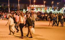 Campaña contra los abusos a mujeres en la Feria de Badajoz