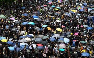 Nuevas protestas en Hong Kong por la anulación de la ley de extradición a China