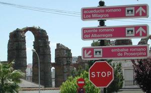 Extremadura mejorará sus señales para facilitar la orientación a los turistas