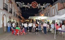 Un bocadillo gigante en las fiestas de San Juanito de Villanueva del Fresno