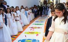 Más de 6.000 kilos de sal alfombrarán las calles de Jerez