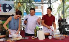 Villanueva se divierte con la tortilla de reclamo