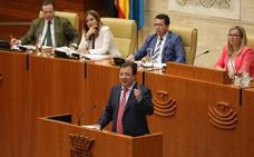 Fernández Vara propone a la oposición pactos en seis áreas estratégicas