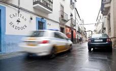 La calle Pizarro de Cáceres se corta al tráfico cuatro días por las obras del Helga de Alvear