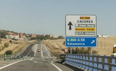 Fomento inicia los trámites para empezar a construir la autovía Cáceres-Badajoz
