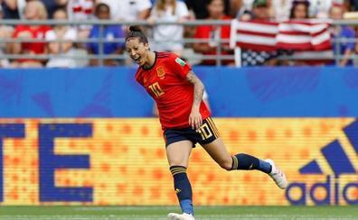 Jennifer Hermoso: «Se ha demostrado que España no tiene techo»