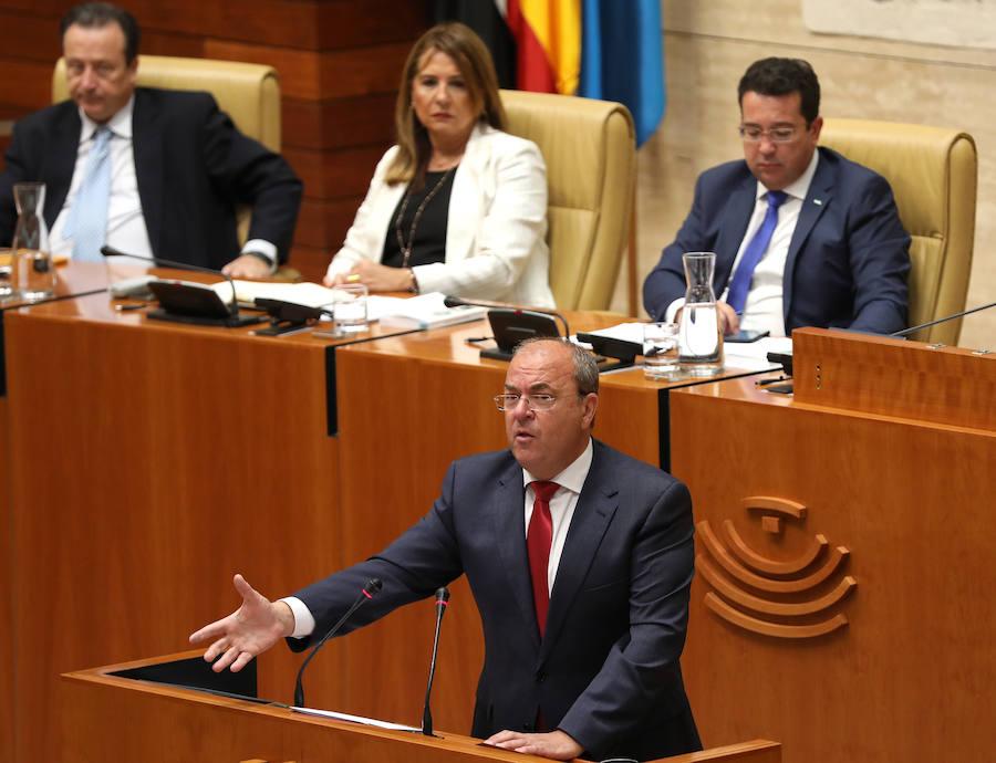 Monago rechaza la propuesta para regresar al Pacto por el Ferrocarril