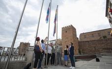 La plaza de Santiago de Cáceres acoge los actos de la Semana del Orgullo